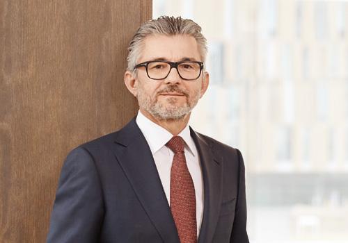 Dipl.-Ing. Herbert Eibensteiner, Leitung der Steel Division